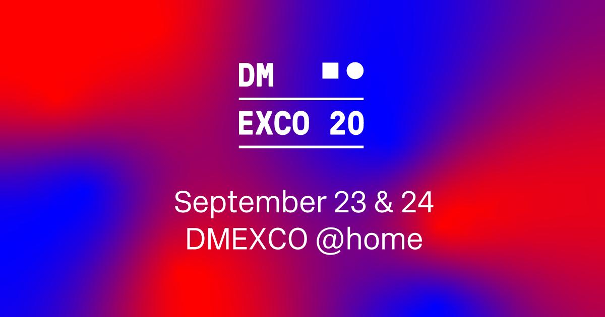 DMEXCO@Home 2020