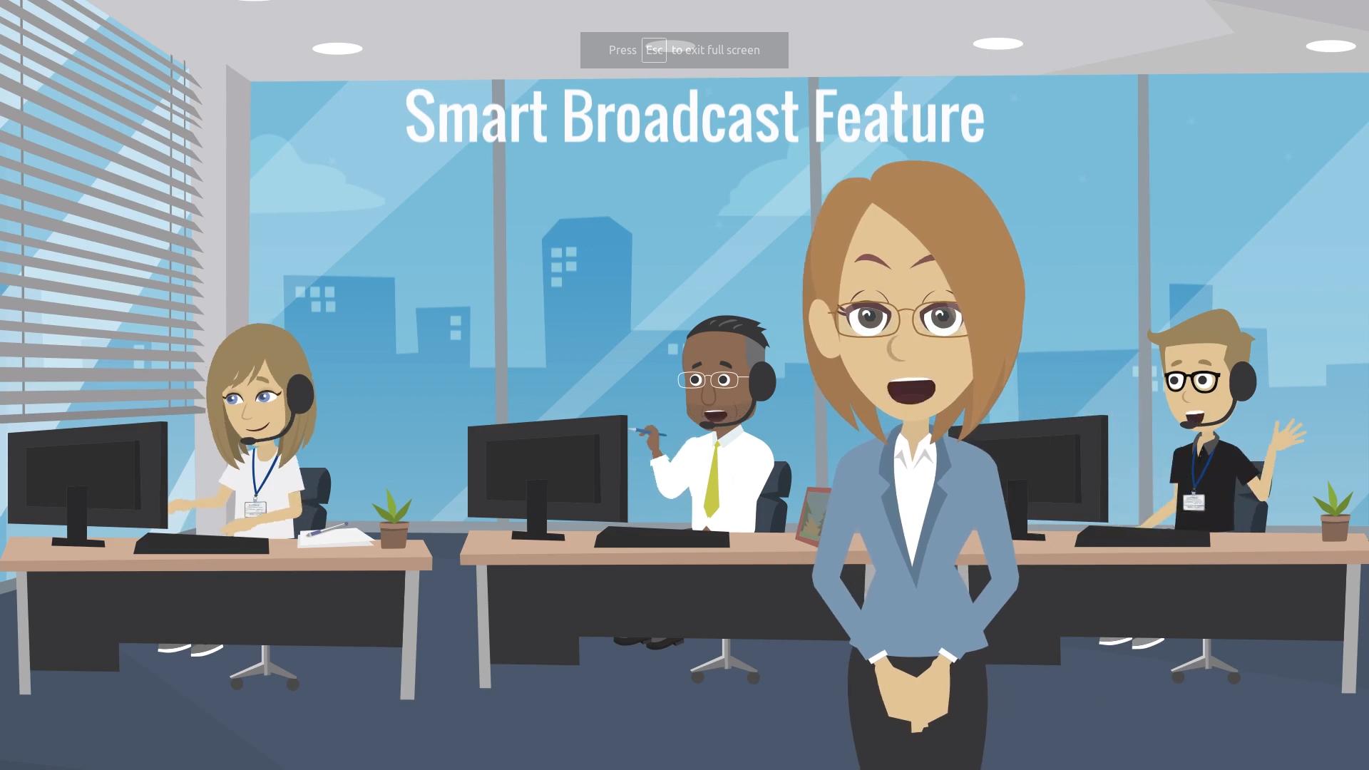 Smart broadcasts