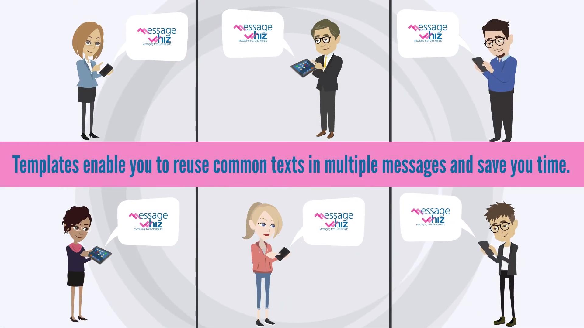 Create message templates