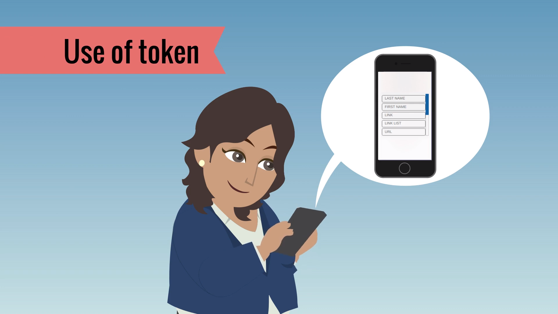 Using personalization tokens